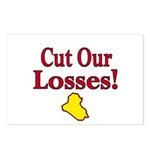 Cut  Our Losses!  Postcards (Package of 8)