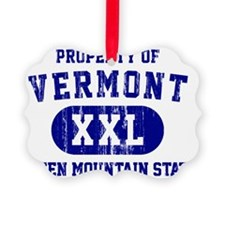 Vermont, Green Mountain State Ornament