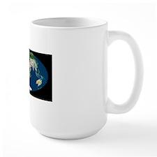 Whole Earth map Mug