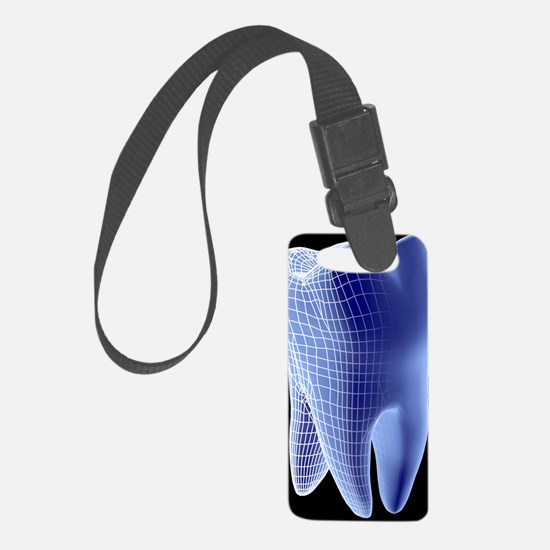 Molar tooth Luggage Tag