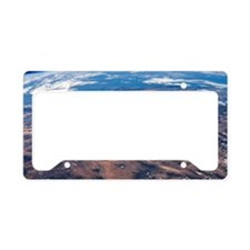 Southwestern USA, ISS image License Plate Holder