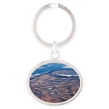 Southwestern USA, ISS image Oval Keychain