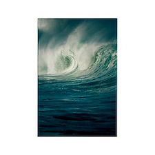 Wind-blown wave breaking in Hawai Rectangle Magnet