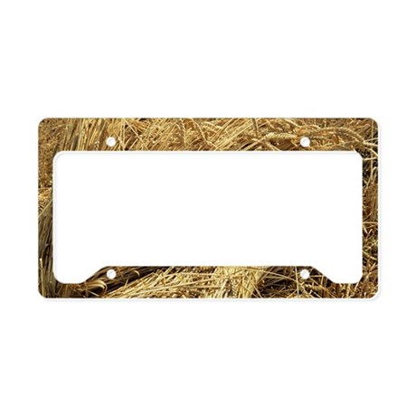 Wheat sheaves License Plate Holder