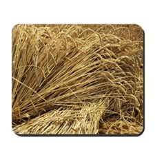 Wheat sheaves Mousepad
