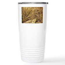 Wheat sheaves Travel Coffee Mug