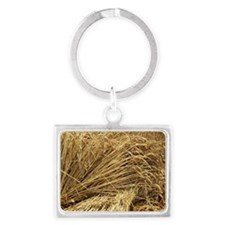 Wheat sheaves Landscape Keychain