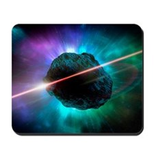Meteor in space, artwork Mousepad