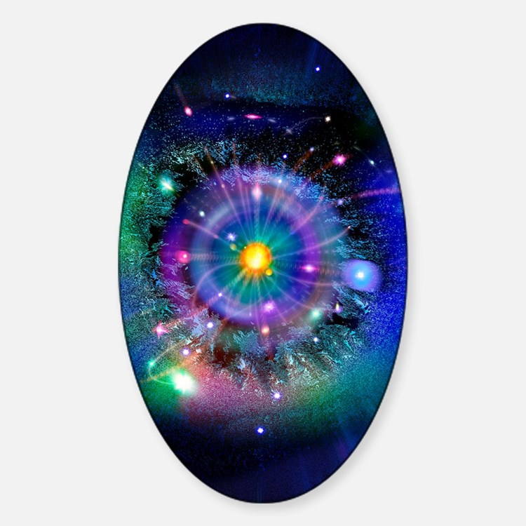 Space-time gateway Decal
