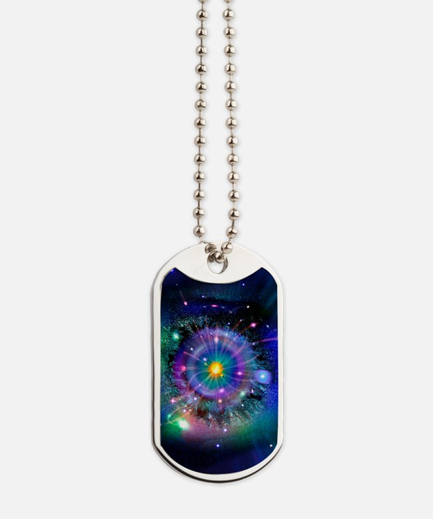 Space-time gateway Dog Tags