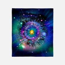 Space-time gateway Throw Blanket