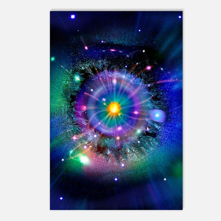 Space-time gateway Postcards (Package of 8)