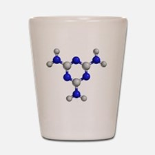 Melamine molecule Shot Glass