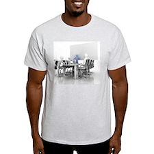 Men meeting, computer artwork Light T-Shirt