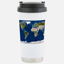 Whole Earth map Travel Mug