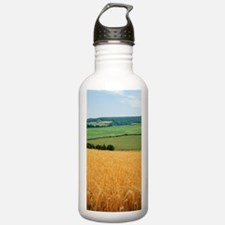 Wheat field Water Bottle