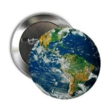 "Whole Earth (Blue Marble 2000) 2.25"" Button"