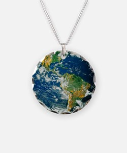 Whole Earth (Blue Marble 200 Necklace