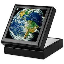 Whole Earth (Blue Marble 2000) Keepsake Box