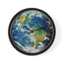 Whole Earth (Blue Marble 2000) Wall Clock