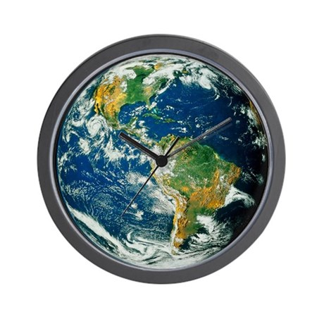 Whole Earth (Blue Marble 2000) Wall Clock