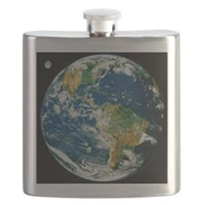 Whole Earth (Blue Marble 2000) Flask