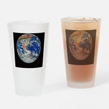Whole earth Drinking Glass