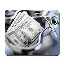 Medical costs Mousepad