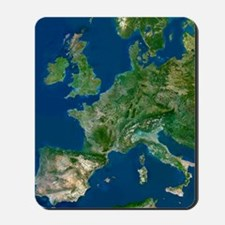 Western Europe Mousepad