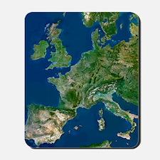 Western Europe Mousepad