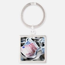 Medical costs Square Keychain