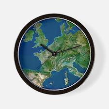 Western Europe Wall Clock