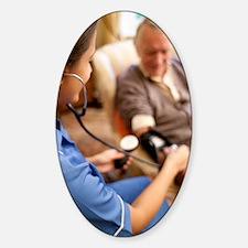 Measuring blood pressure Decal