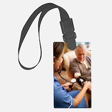 Measuring blood pressure Luggage Tag