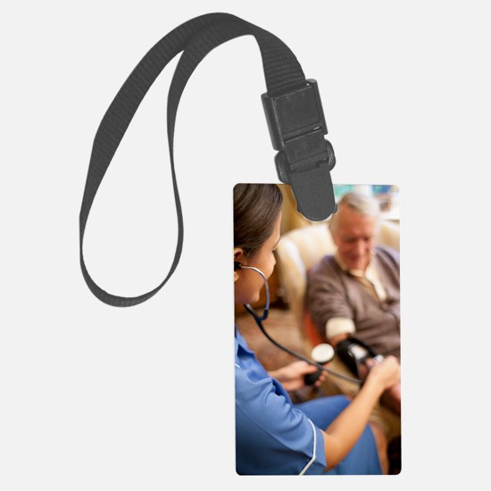 Measuring blood pressure Luggage Tag