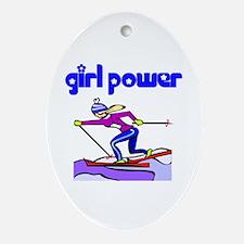 GP Cross Country Skiing Ceramic Ornament
