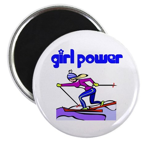 GP Cross Country Skiing Magnet