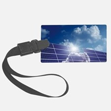 Solar panels in the sun Luggage Tag