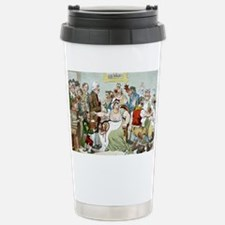 Smallpox vaccination, satirical Travel Mug