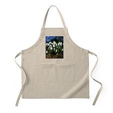 Snowdrops (Galanthus sp.) Apron