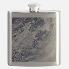 Von Karman vortices, Cape Verde islands Flask