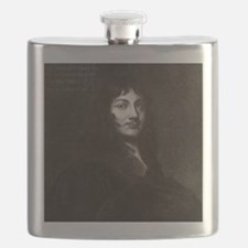 Sir William Temple, English statesman Flask
