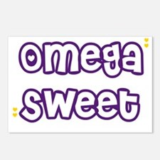 Omega Sweet Hearts Postcards (Package of 8)