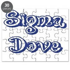 Curley Sigma Dove Puzzle