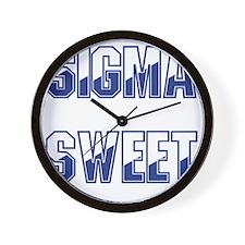 Sigma Sweet Two-tone Wall Clock