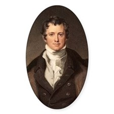 Sir Humphry Davy portrait chemis Decal