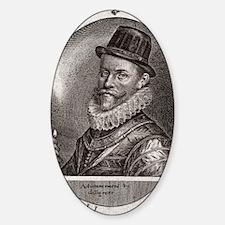 Sir John Hawkins, English adventure Decal
