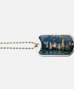View of Vancouver, Canada Dog Tags