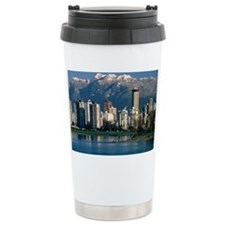 View of Vancouver, Canada Travel Mug