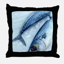 Mackerel Throw Pillow